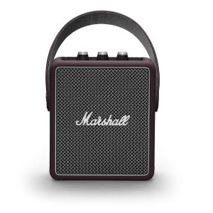 Marshall Stockwell II Portable Speaker - Burgundy