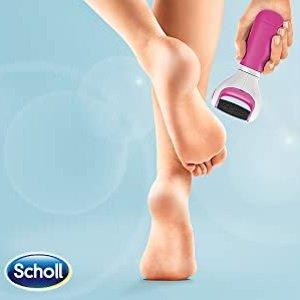 折后€19.99 穿凉鞋更好看Scholl Velvet Smooth 电动修脚滚轮 轻松去死皮