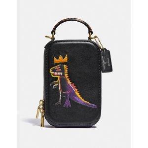 CoachX Jean-Michel Basquiat合作款相机包