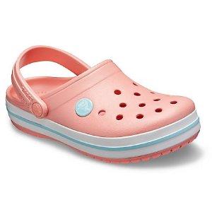 $9.44收绒里款洞洞鞋 入新品好机会Crocs官网 全站童鞋额外7折+额外9折三日热卖