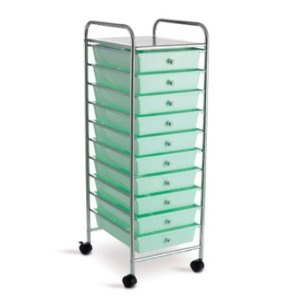 Mint 10-Drawer Cart by Recollections