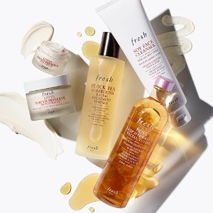 15% Off on $50Last Day: Fresh Skincare Sale