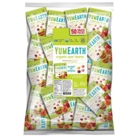 yumearth 有机小酸豆 共50小包