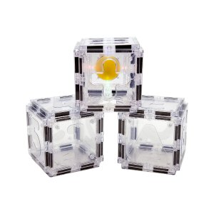 PicassoTiles43-Piece 3D Magnetic Building Block Alphabet & Numerical Set