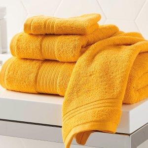 600 平米克重空气感吸水棉浴巾