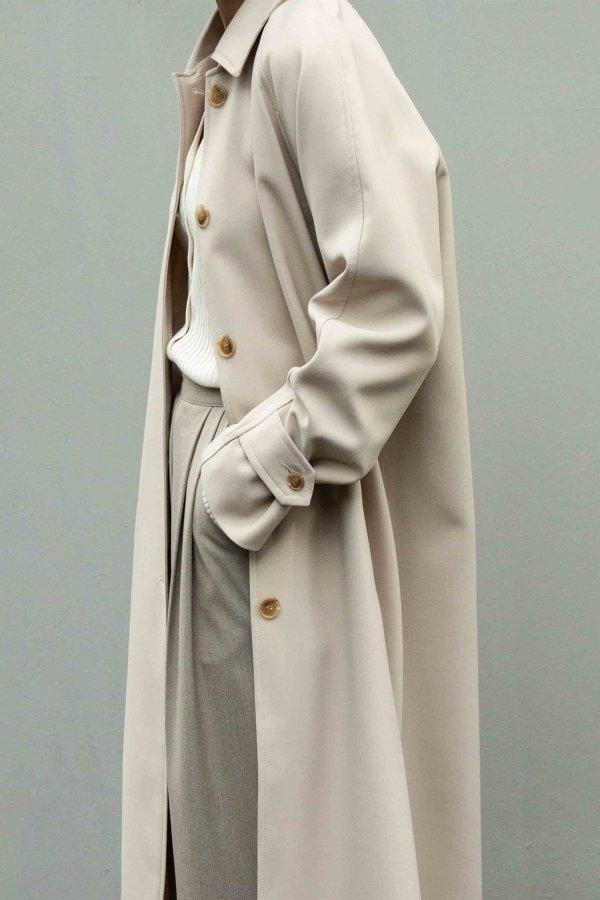 长款廓形大衣