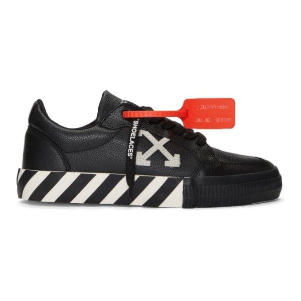男士黑色低帮运动鞋