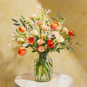 精选9折,新人8.5折+免邮Bloom&Wild 情人节 英国玫瑰花束、鲜花速递