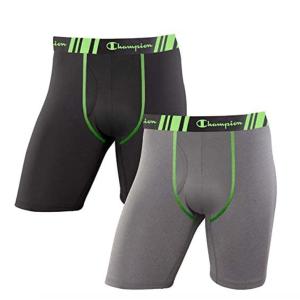 $18.48(原价$28.9)Champion 男士平角短裤 2只装 S码 贴身衣物勤更换