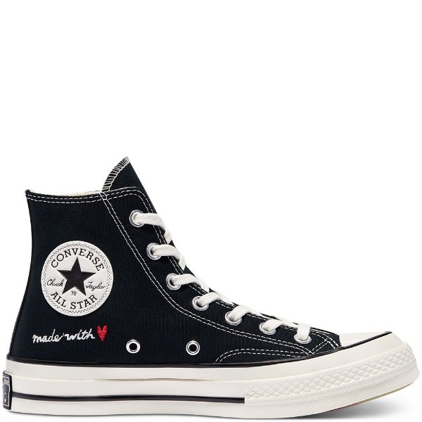 Chuck 70 情人节限定高帮帆布鞋