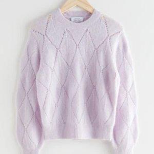 5折起+叠8折 £20收纯色毛衣上新:& Other Stories 毛衣、针织衫 春季大促 当季温柔法风