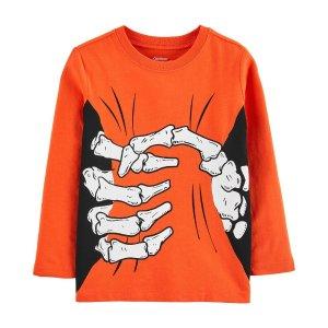 OshKosh B'goshDoorbuster男小童T恤,手指图案可发夜光