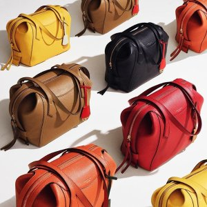 New ArrivalsTory Burch FW19 Collection Perry Satchel
