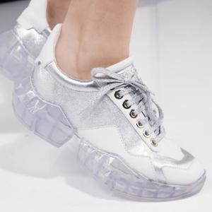 全部5折 £298收宋茜、王子异同款钻石老爹鞋Jimmy Choo Diamond 运动鞋大促 超具时尚未来感