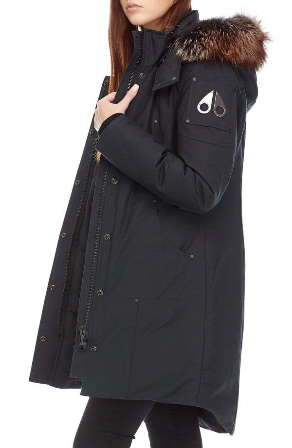 毛领羽绒服