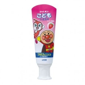 Lion需使用折扣码DMCABB儿童牙膏 草莓味