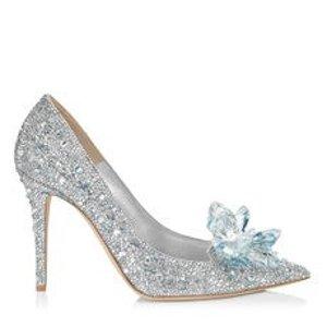 Jimmy Choo水晶高跟鞋10厘米