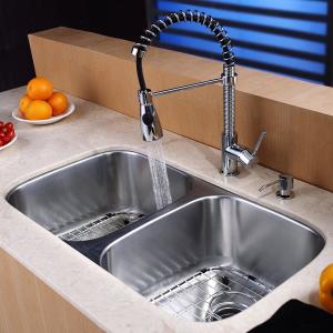 低至3折美亚销量第一水槽品牌Kraus 水槽、水龙头等促销特卖