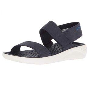 低至$22.5(原价$44.99) 藏蓝配色Crocs 女士沙滩鞋小潮鞋热卖  又轻又软又舒适