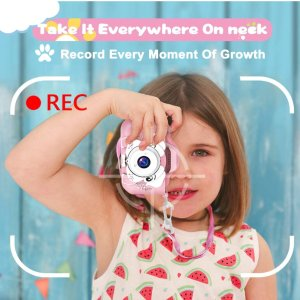 $14.98(原价$24.96)AOGELI 儿童高清数码相机 发现身边的美好