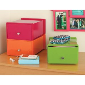 Your Zone Plastic Stackable Drawer