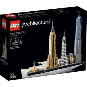 Lego建筑:纽约 (21028)