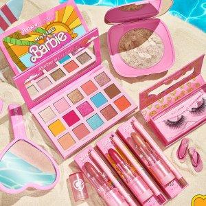 明天发售 填邮箱有机会免费赢Colourpop X Barbie 联名粉嫩彩妆 童年回忆 阳光沙滩夏日感