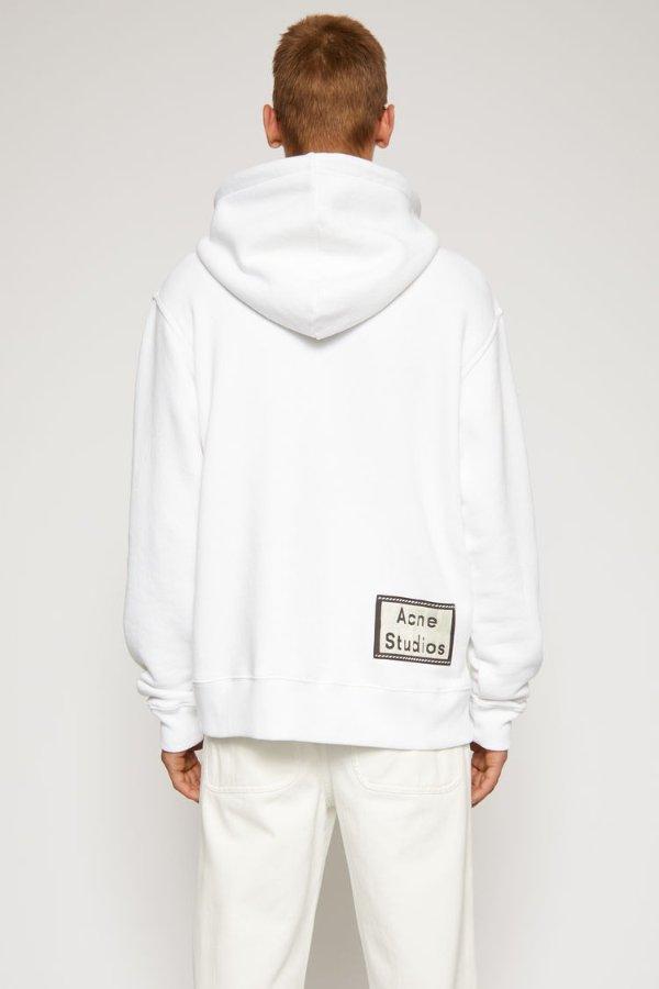 白色logo卫衣
