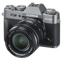 Fujifilm X-T30 无反数码相机机身 银灰色 配XF 18-55mm镜头和滤镜组