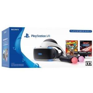 $259.95(原价$349.99)PlayStation VR 《节奏光剑》+《无主之地2 VR》套装
