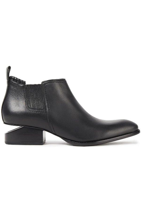 Kori leather 经典断根靴