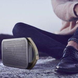 5折+免邮 仅限中国(包括港澳台)B&O A2 便携式蓝牙音箱热卖  来自北欧的清澈音质