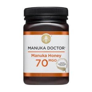 现价£19.99(原价£66.99)Manuka Doctor 70 MGO蜂蜜500g复活节大促