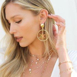 低至6折Nordstrom 精美首饰热卖,收星月耳坠,珍珠手链