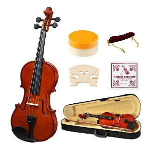 $67.99 (原价$189.89)闪购:Strong Wind 1/2 Size 儿童实木小提琴+入门套件热卖