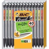 BiC Xtra Life 活动铅笔40只,0.7毫米