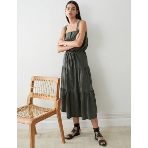 Ines Tencel Utility Maxi Dress