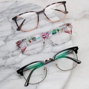 低至$6.95Zenni Optical 时尚眼镜框大促 防雾、防蓝光镜片可选