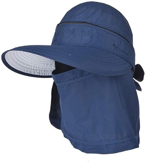户外防晒帽