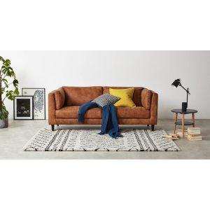 Made满£50减£10 需用折扣码MADEFORYOU10图案地毯