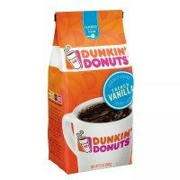 Dunkin' Donuts 中度烘焙咖啡粉 法式香草口味 12oz