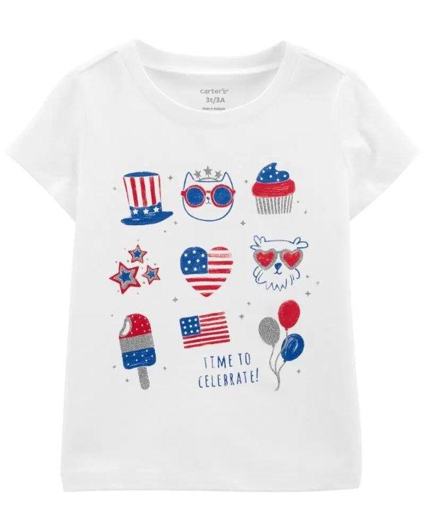 小童国庆主题T恤