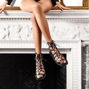 25% offStuart Wetizman Flat Sandals Sale