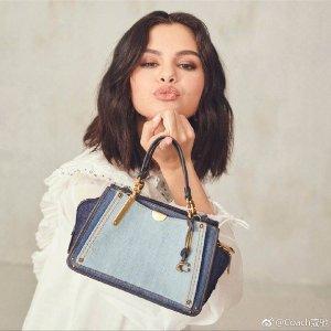 低至5折 超多新款加入Coach 正价包袋、配饰大促来袭 收Selena Gomez同款