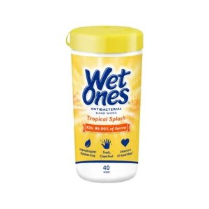 Wet Ones抗菌湿巾 45片