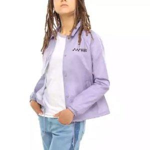 Vans香芋紫夹克