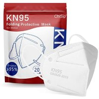 KN95 5层防护口罩 20个 白色