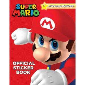 $6.99(原价 $12.99)超级玛丽贴纸游戏书 一起来探险