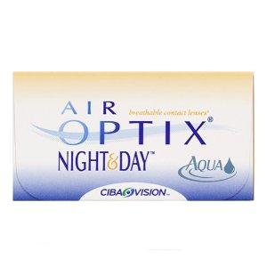 $33.75 (原价$45) 不需处方LensPure Air Optix 月抛隐形眼镜 6片 睡觉可以戴着睡