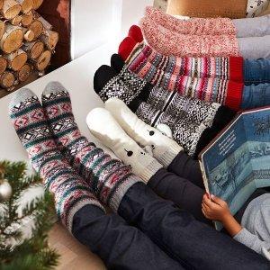 低至4折 $9.5收狗狗造型阅读袜折扣升级:Indigo 时尚舒适针织阅读袜/家居袜热卖 冬日里保暖又萌萌哒